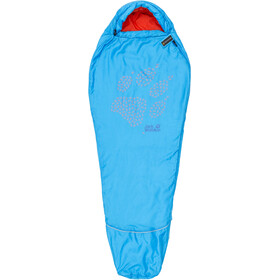 Jack Wolfskin Grow Up Schlafsack Kinder brilliant blue